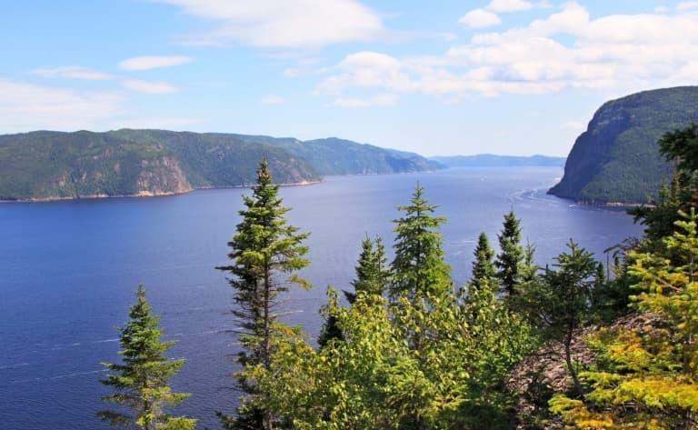 Le Fjord Saguenay et ses paysages grandioses