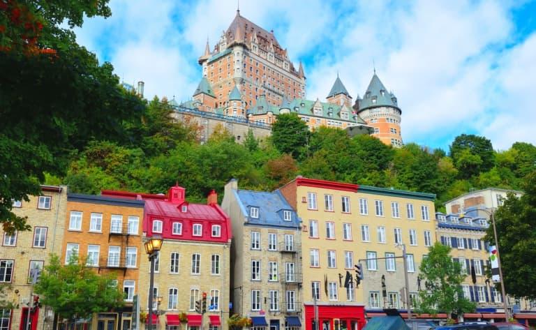 Visite de la ville de Québec