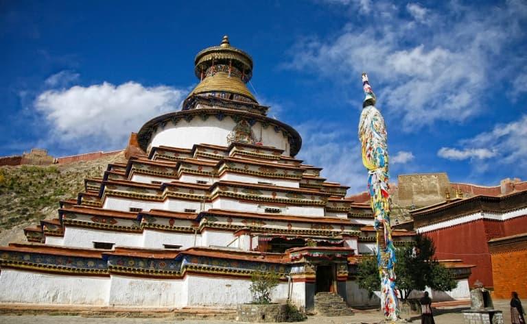 Le monastère Tashilumpo