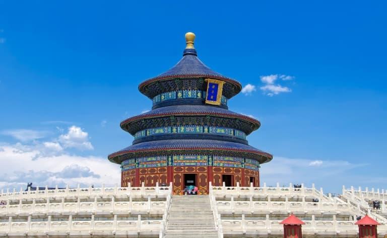 Arrivée en Chine