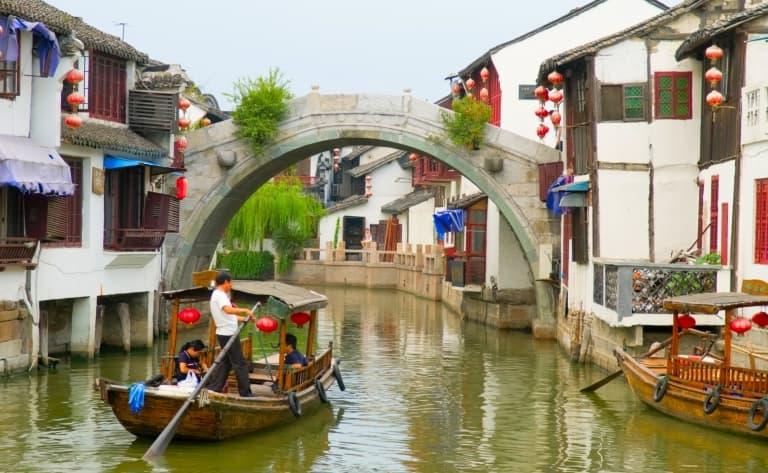 Promenade en gondole, Shen Ting, Zhang Ting