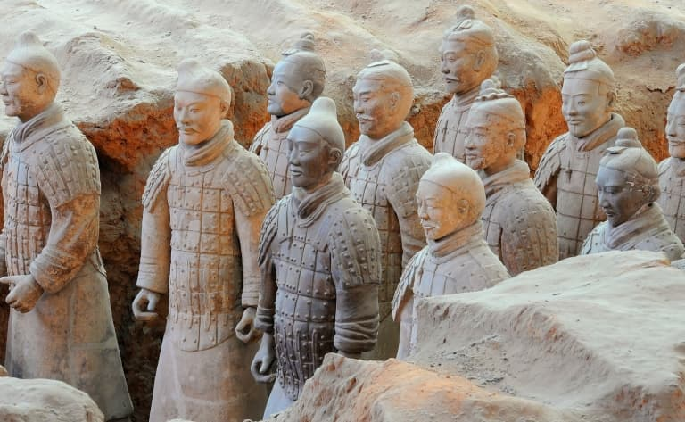 La Grande Pagode de l'Oie Sauvage, la Calligraphie, le Marché de Médecine Chinoise traditionnelle et l'Armée des soldats de terre cuite