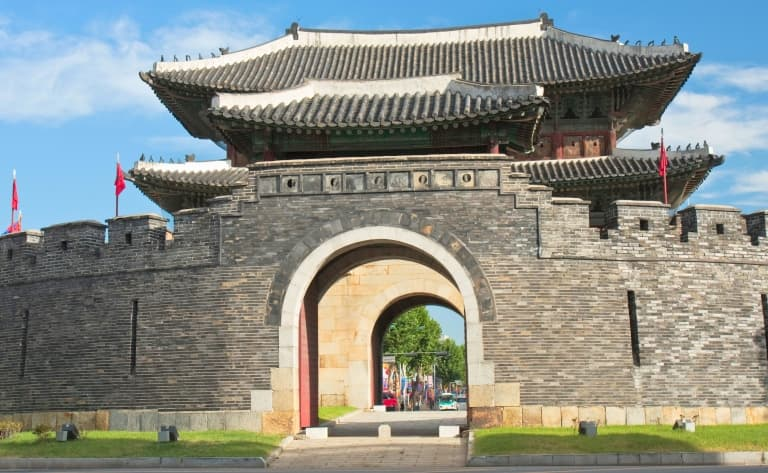 Forteresse de Suwon et parc national Songnisan