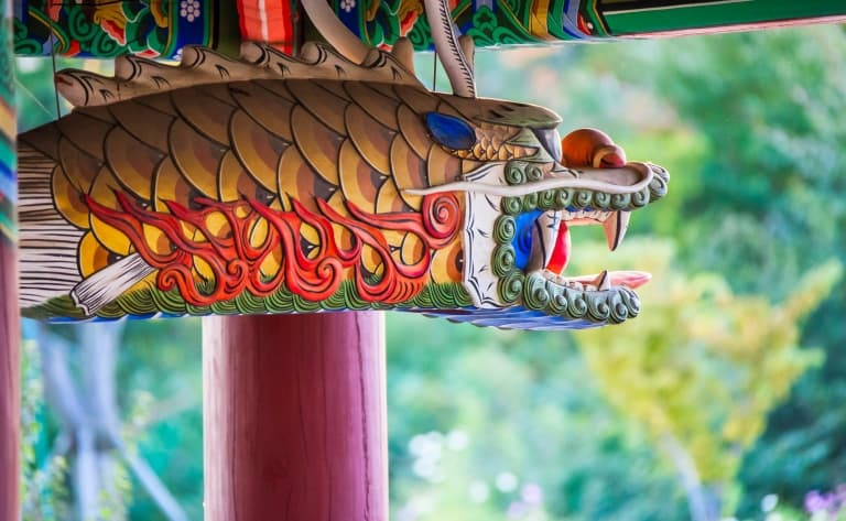 Les 80 pagodes du temple Tapsa