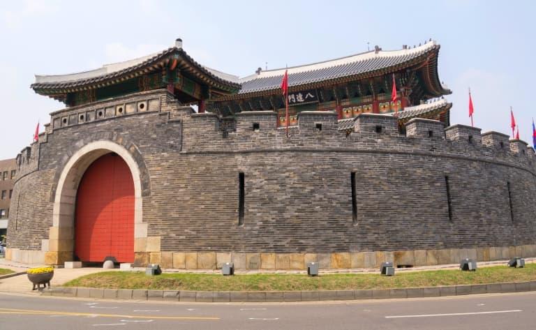 La forteresse de Suewon