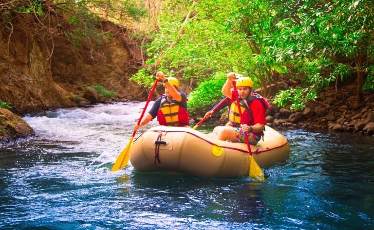 Rafting sur la rivière Sarapiqui
