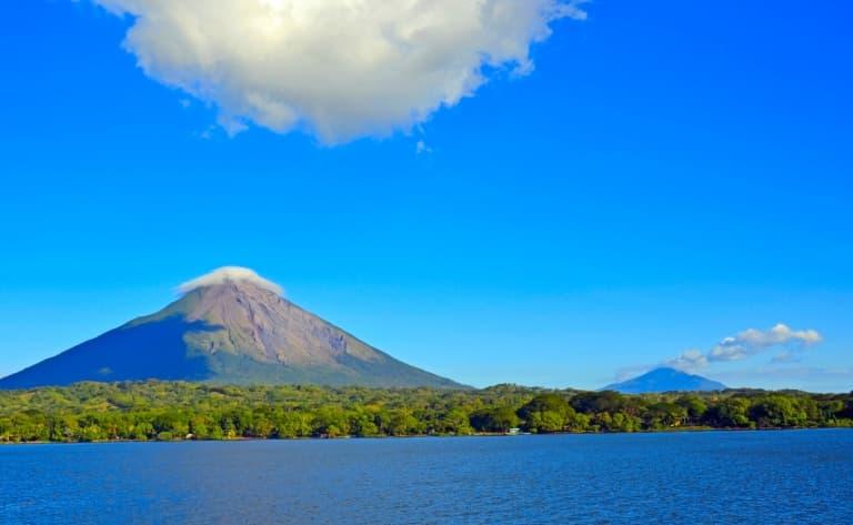 Survol des volcans