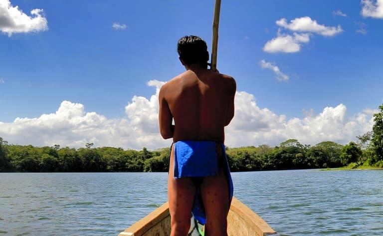 Une journée chez les indiens Ngobé