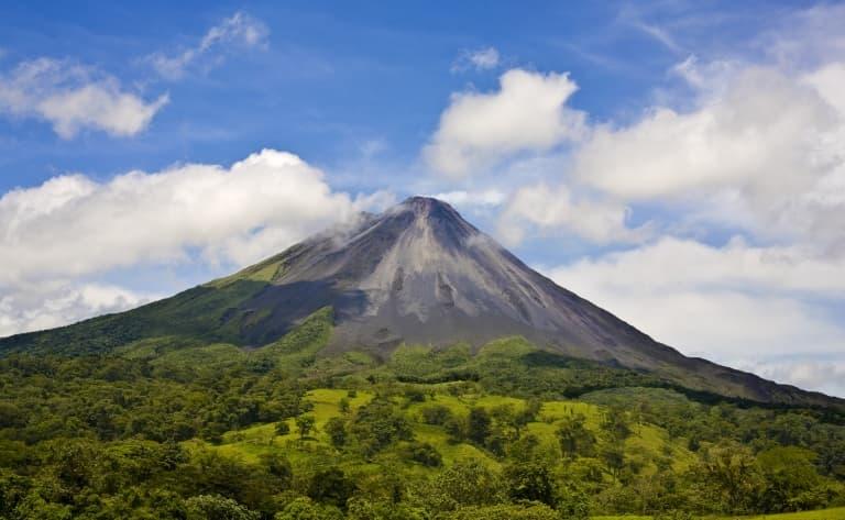 Les feux du volcan Arenal !