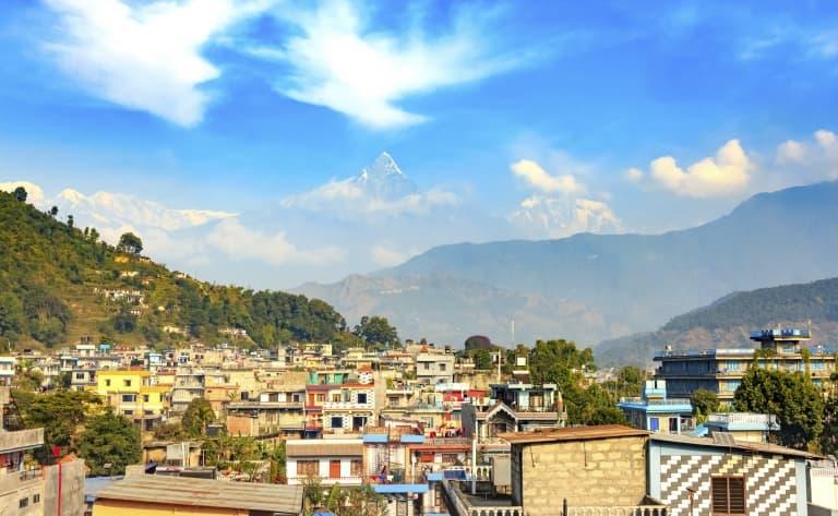 Visite de Pokhara et de son bazar