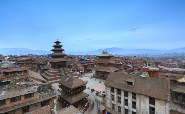 Arrivée au Népal !
