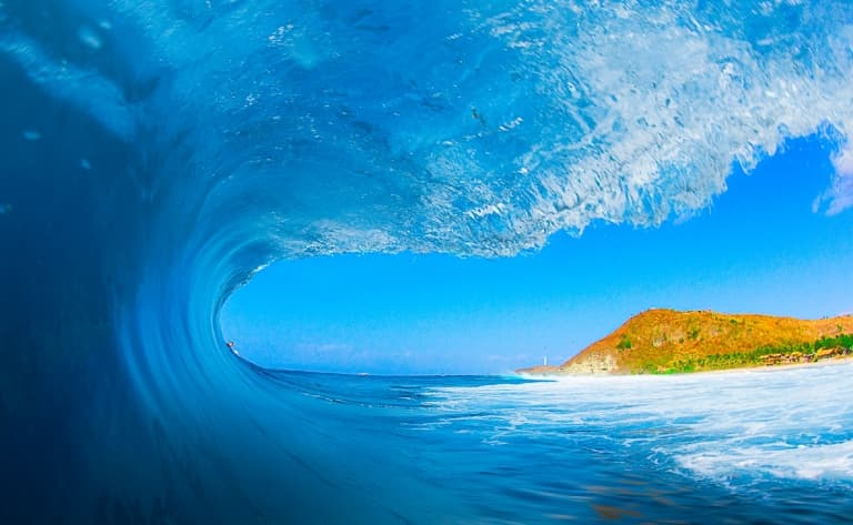 Journée surf à Kuta