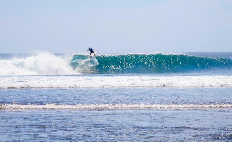 Journée de surf à Kuta