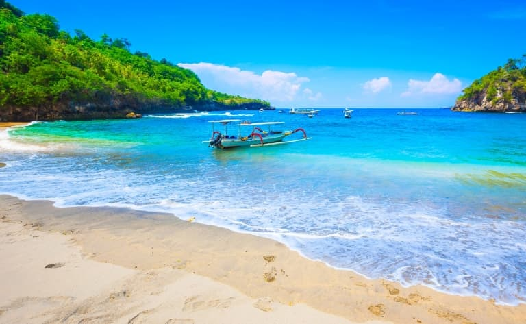 Croisière vers l'île de  Lembongan