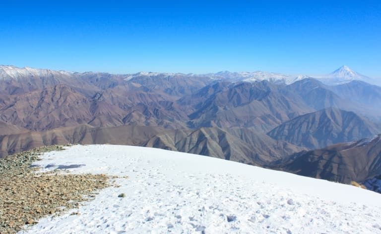 Le Mont Tochal à 3933 mètres d'hauteur !