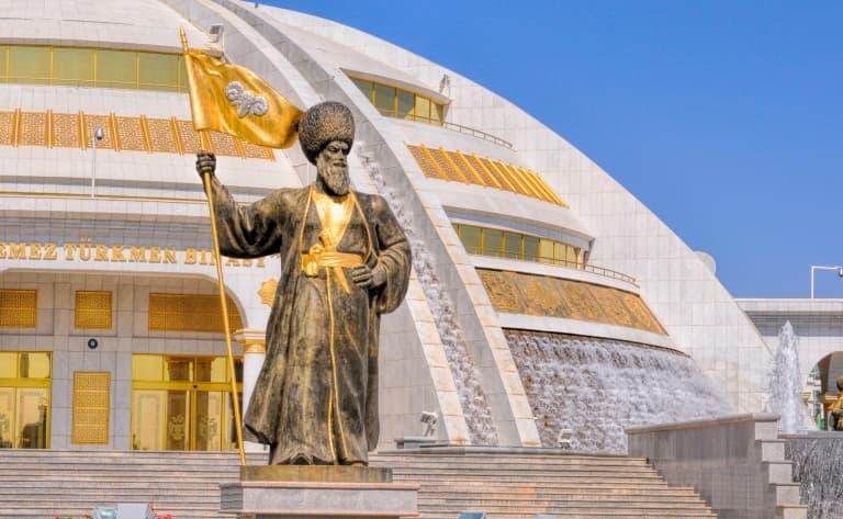 Vers le Turkménistan