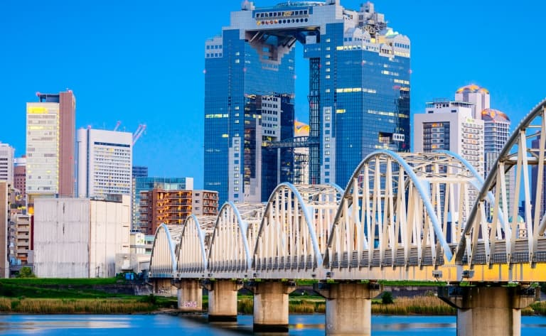 Osaka, gourmande et moderne