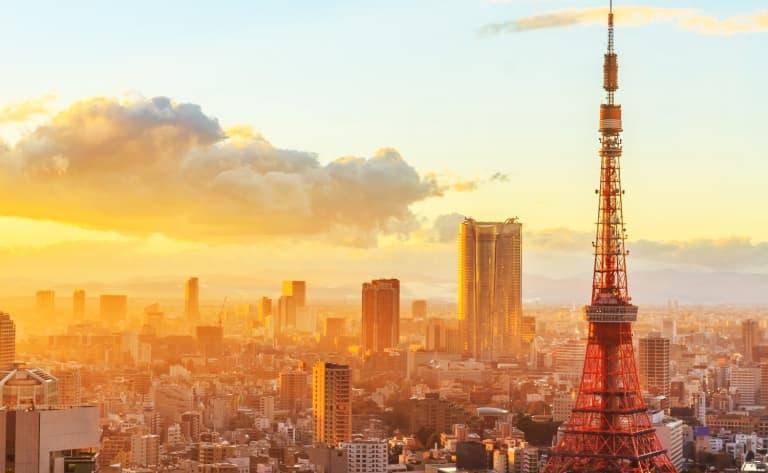 Arrivée et visite de Tokyo