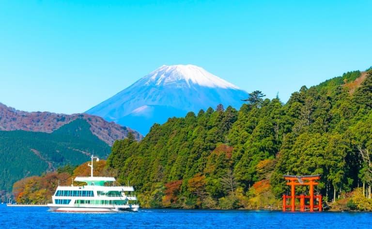 Croisière sur le Lac Ashi à Hakone