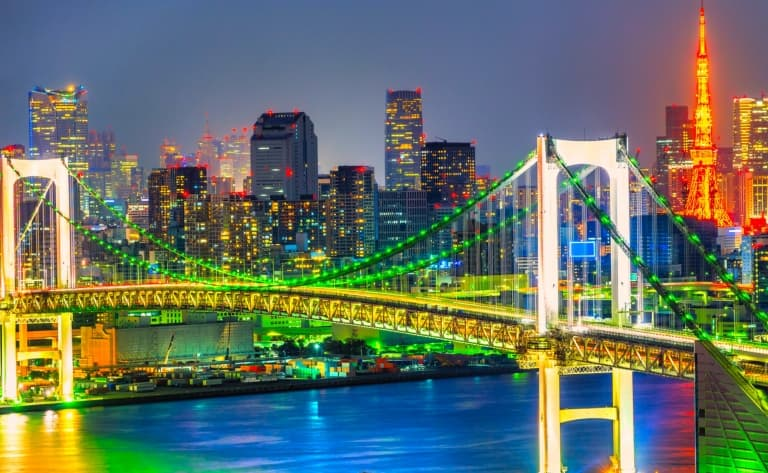 Dîner et croisière dans la baie de Tokyo
