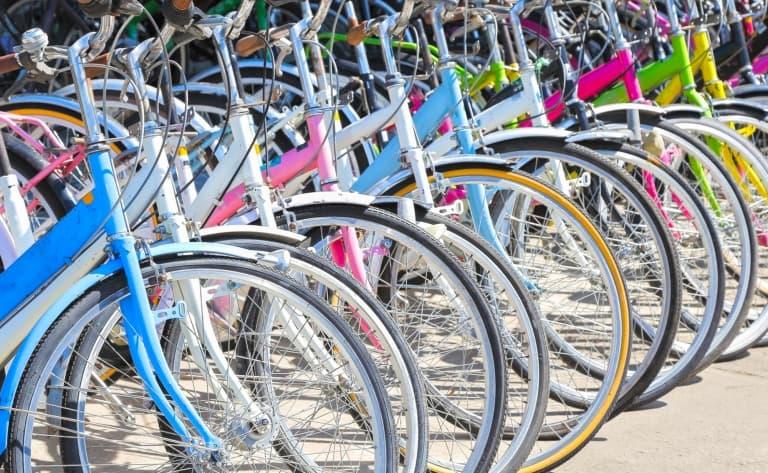 Location d'une bicyclette à Kyoto