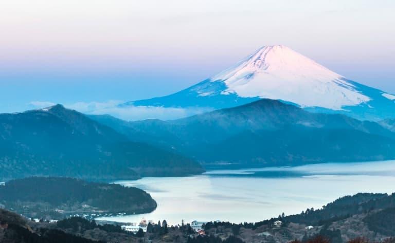 Visite d'Hakone et du Mont Fuji