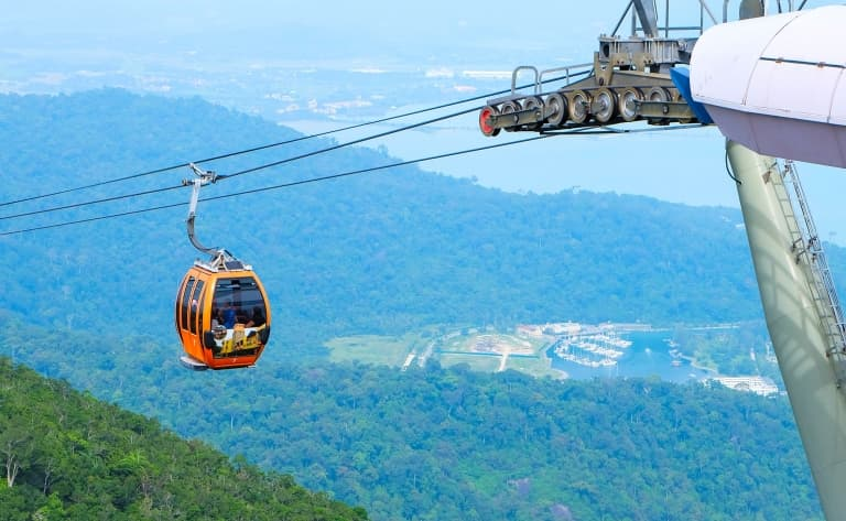 Cable Car à Langkawi