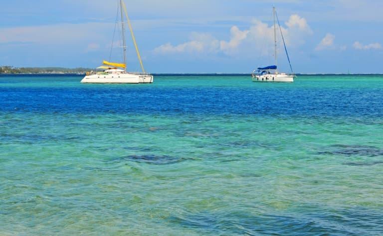 Croisière photo en bayliner au coucher de soleil en catamaran