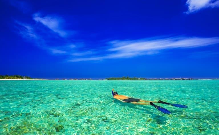 Paysages de l'Ile Sacrée et de son lagon