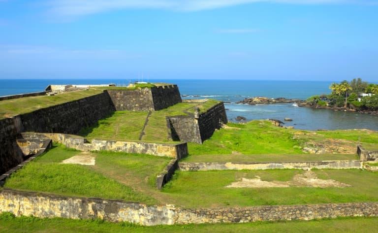 Visite de la forteresse de Galle