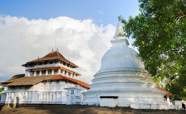 Kandy et la dent de Bouddha