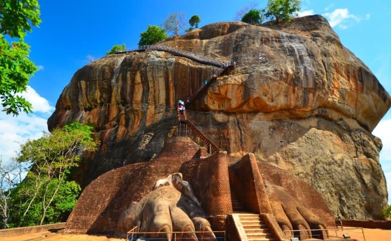 Découverte des vestiges sri lankais