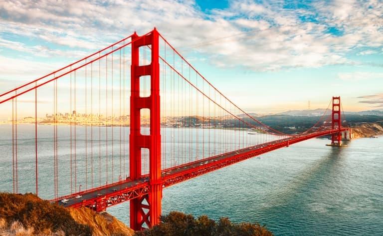 Golden Gate à vélo
