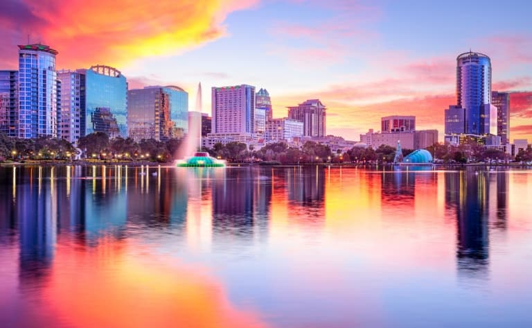 La ville d'Orlando