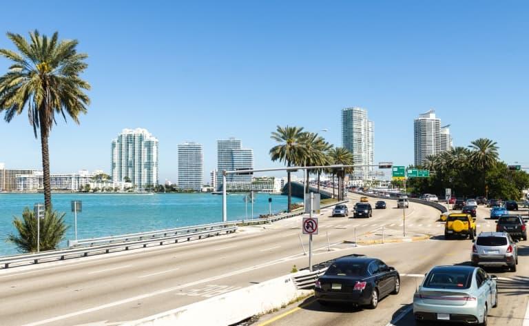 Départ de Miami