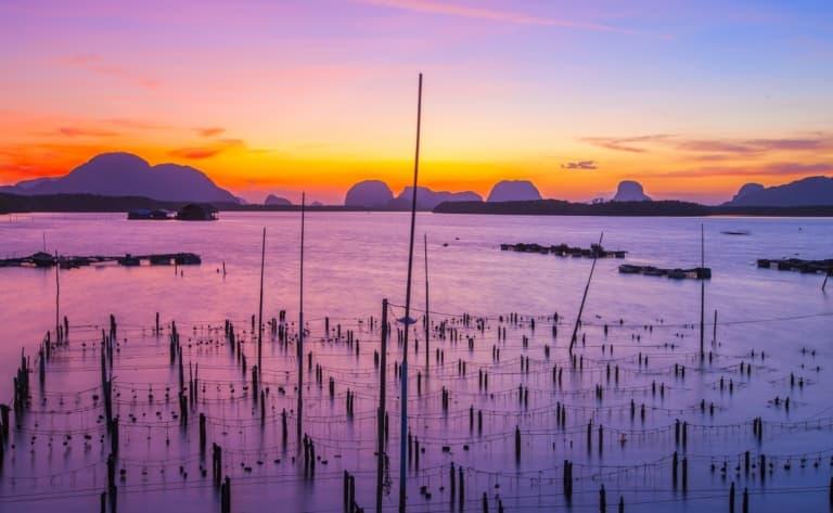 Croisière sur la lagune de Dam Chuon