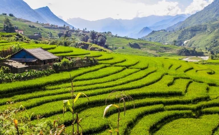 La paisible vallée de Mai Chau