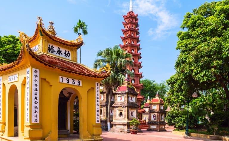 Hanoi et première découverte
