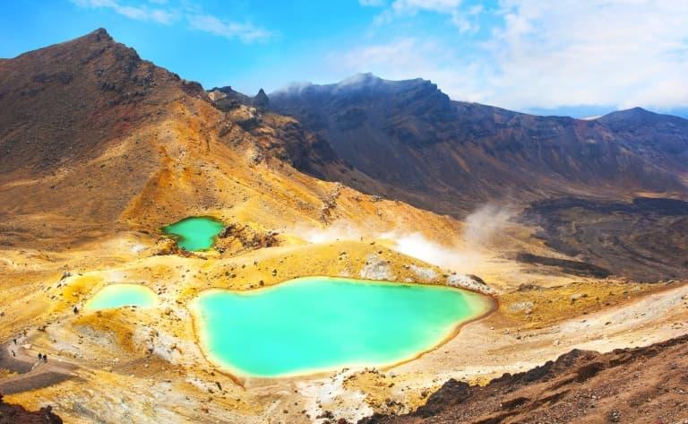Randonnée dans le Parc National de Tongariro
