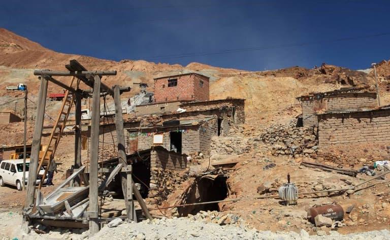 Dans la mine de Potosi