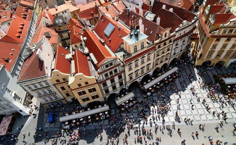 Prague, perle d'histoire