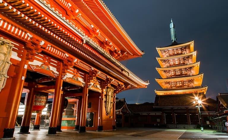 Tokyo d'Est en Ouest
