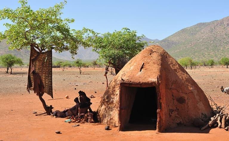 Premières impressions Himbas !