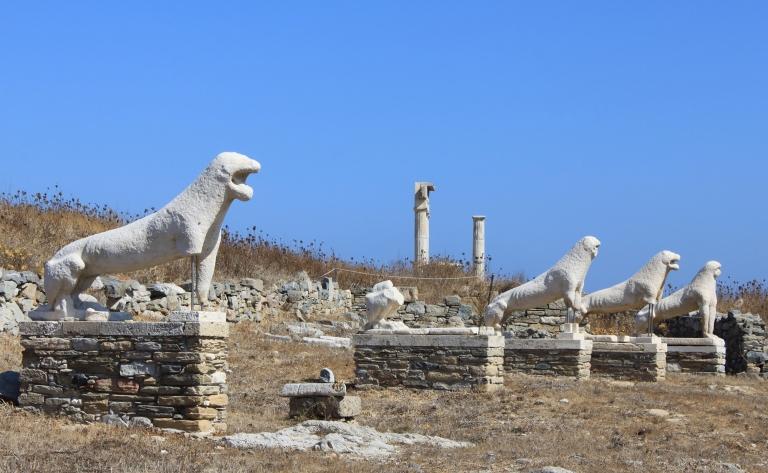 Délos, sur les traces d'Apollon et Mykonos la petite venise