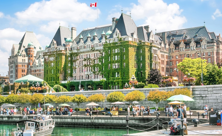 Journée dans la Capitale de la Colombie Britannique : Victoria !