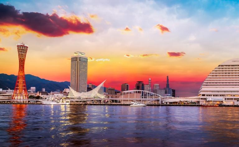 Embarquement à Kobe