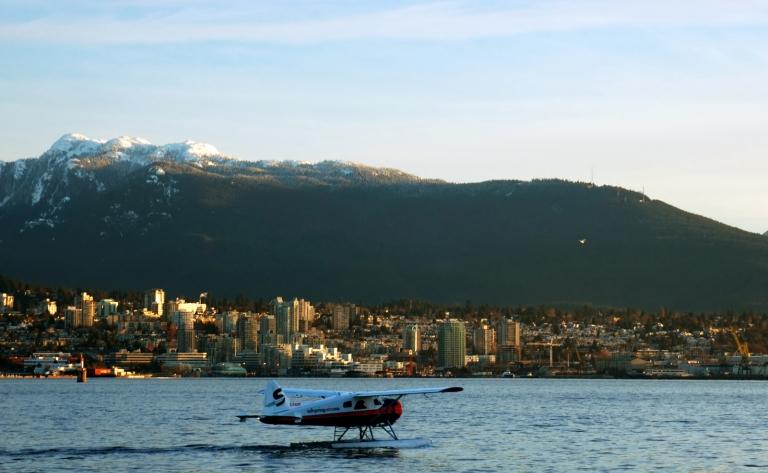 Survol de Vancouver en hydravion